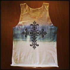 Regata Cruz! Camisetas personalizadas, desenvolvidas manualmente: www.folksarts.com.br ou www.facebook.com/folks.arts #folksarts #cruz #boho #handmade