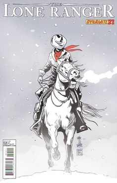 Blizzard!___Written by Ande Parks. Art by Esteve Polls. Cover by Francesco Francavilla , The Story .... On their way across the endless plains of Kansas, Tonto and The Lone Ranger are caught in the sn