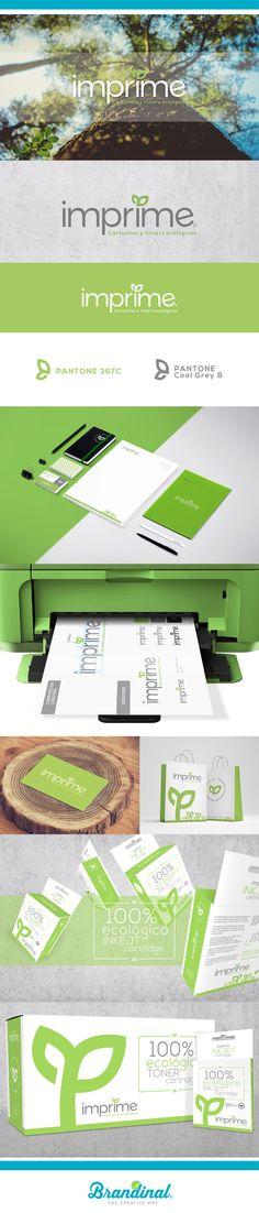 Imprime _ Cartridge & Toner Ink #branding #packaging #stationary…