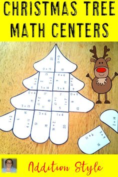 Need some extra addition practice? These addition math centers will work great for Christmas or all December long! Use them in your 1st, 2nd, or 3rd grade classroom to keep your students engaged with hands-on learning! Click through now to see all three puzzles! {first, second, third grade - $}