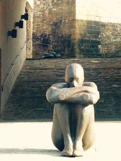 """""""HUMAN"""" Antony Gormley Human Sculpture, Sculpture Art, Modern Art, Contemporary Art, Contemporary Sculpture, Antony Gormley Sculptures, Sir Anthony, Artistic Installation, Elements Of Art"""