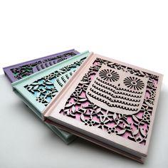 Owl Laser Cut Notebook | Jam Art Prints