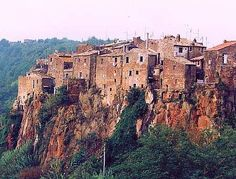Calcata - home of Christ's foreskin!