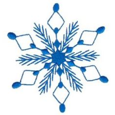 Bunnycup Embroidery Snowflakes 18