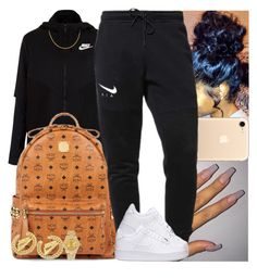 """""""Untitled #1144"""" by msixo ❤ liked on Polyvore featuring NIKE, MCM and Rolex"""