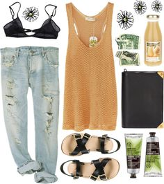 """Orange Juice"" by vv0lf ❤ liked on Polyvore"