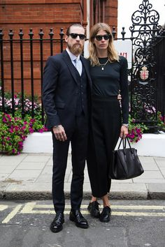 LE FASHION BLOG  BEARDS + BABES PART 4 JUSTIN OSHEA VERONIKA HEILBRUNNER VIA TOMMY TON 1 Photo:  This Photo was uploaded by lefashion. Find other LE FASH...