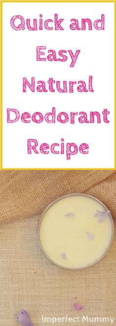 Making your own natural deodorant is super simple and easy. Another benefit I love to making your own natural deodorant is that you can customise the scent to exactly how you like it (or have it unscented if you prefer).