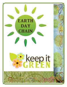 Earth Day Chain Activity by Innovative Teacher -  Create this fun craft to celebrate Earth Day