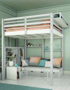 6 Incredible Ideas To Decorate A Small Bedroom Design Bedrooms - Loft-bedrooms-designs