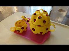 Plastic Soda Bottle Crafts: Making a Teapot