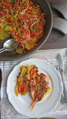 Cocinando entre Olivos: Cómo hacer Salmonetes al horno paso a paso.
