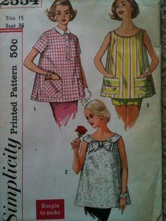 020a2c8c580 Vintage Simplicity Maternity Patterns