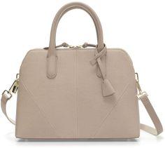 Zara Saffiano Leather Mini-City Bag on shopstyle.com