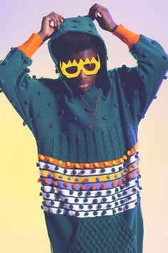 Pop Art Knitwear Catalogs - The Rebel Yuths Lookbook Features Eccentric Eyewear Accents (GALLERY)