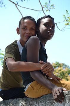 Cuban boys. (Cuba, Greater Antilles, Caribbean)