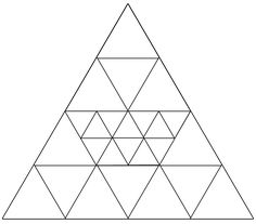 How can triangles can you see?