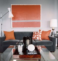 Orange And Gray Interiors Feng Shui Color The Five Elements Tao Of Dana