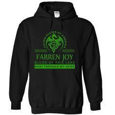 FARREN JOY The Awesome T Shirts, Hoodies, Sweatshirts. CHECK PRICE ==► https://www.sunfrog.com/LifeStyle/FARREN-JOY-the-awesome-Black-59450911-Hoodie.html?41382