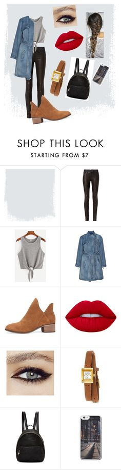 """""""Adventure"""" by karlagtz on Polyvore featuring rag & bone, Jean Marc Philippe, Lime Crime, Gucci and STELLA McCARTNEY"""