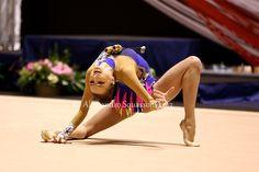 Viktoria Mazur, Ukraine, won the Team bronze at the 2014 World Championships.