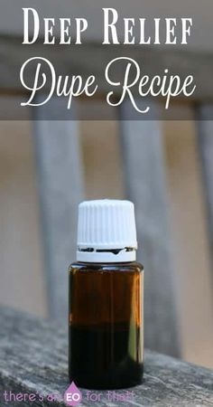 How to make Deep Relief, Deep Relief dupe recipe, Deep Relief recipe Panaway Essential Oil, Essential Oils For Pain, Clove Essential Oil, Young Living Essential Oils, Essential Oil Blends, Oil Substitute, How To Make Oil, Young Living Oils, Massage Oil