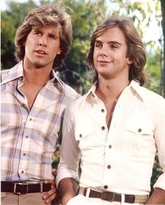 Shaun Cassidy & Parker Stevenson, aka The Hardy Boys. Parker was hot...