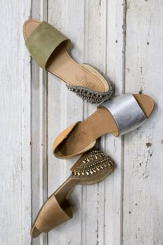 Throw a dash of dazzle in your step with the Milly or Magnolia.