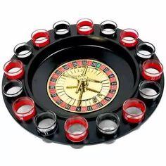 jogo cassino shot com roleta 16 copos bebida drink destilado