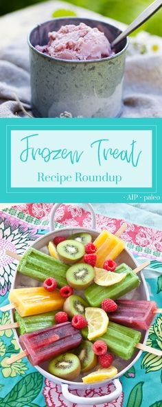 AIP Frozen Treat Recipes | Real Food & Love