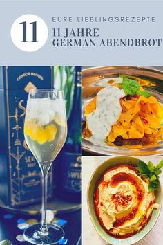 11 Jahre German Abendbrot: Eure Lieblingsrezepte Yummy Food, Recipes, Hummus Recipe, Melted Cheese, Delicious Food, Ripped Recipes, Cooking Recipes