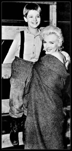 "Marilyn Monroe"" & Tommy Rettig, who was in (1950's) Lassie TV Series"