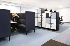 Corporate office designed by Metropolis arkitektur & design. Corporate Office Design, Divider, Room, Furniture, Home Decor, Bedroom, Homemade Home Decor, Home Furnishings, Interior Design