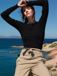Photography: Nikos Papadopoulos. Styled by: Elina Sygareos. Hair:Christos Bairabas. Makeup: Athina Karakitsou. Model:Asia Piwka.