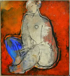 Christianne Knops | Galerie Liehrmann Abstract Portrait Painting, Figure Painting, Figure Drawing, Painting & Drawing, Abstract Art Images, Abstract Canvas Art, Figurative Kunst, Art Abstrait, Illustration