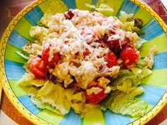 Risotto met savooiekool, krokant gebakken salami en cherrytomaatjes (24kitchen)