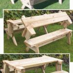 How to make A Folding Picnic Table DYI project