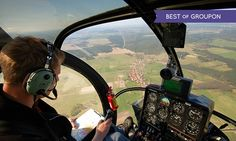 Helicopter Flying Lesson For One (£99) or Two (£198) with Adventure 001 (50% Off)