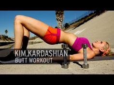 The Kim Kardashian Butt Workout - YouTube