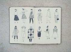 Sketchbook - Ellen Surrey