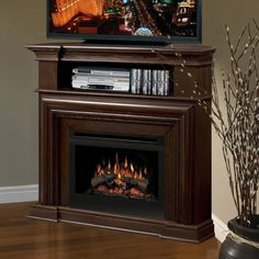 Electric Fireplace Tv Stand on Pinterest | Menards ...