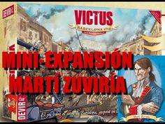 152.4.- Victus: Barcelona 1714 (Devir): expansión Martí Zuviría - YouTube