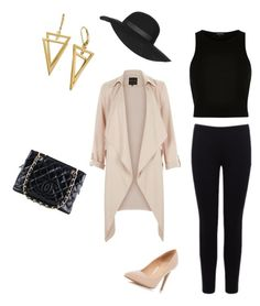 """""""Spring street clothes"""" by najayajohnson on Polyvore featuring New Look, River Island, Topshop, Chanel, Dorothy Perkins and Warehouse"""