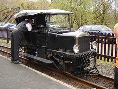 Ford Model T Inspection Car