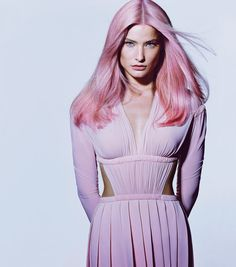 That is some pink hair!   Best of Women's Fashion, 2012 - Interactive Feature - T Magazine