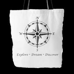 Explore Dream Discover Tote