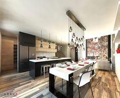 Plan de maison Ë_144   Leguë Architecture Plane, India Architecture, Small House Plans, House Layouts, Tiny Living, Traditional House, Home Goods, House Design, How To Plan