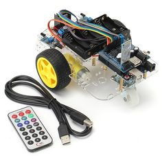 2WD Robot Car Kit UNO R3 Android Bluetooth Control For Arduino