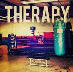 My therapy!