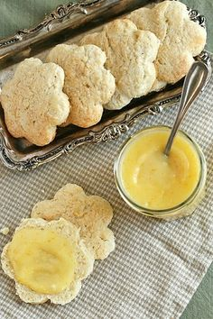 Tea Time- Lemon Ginger Scones by penny